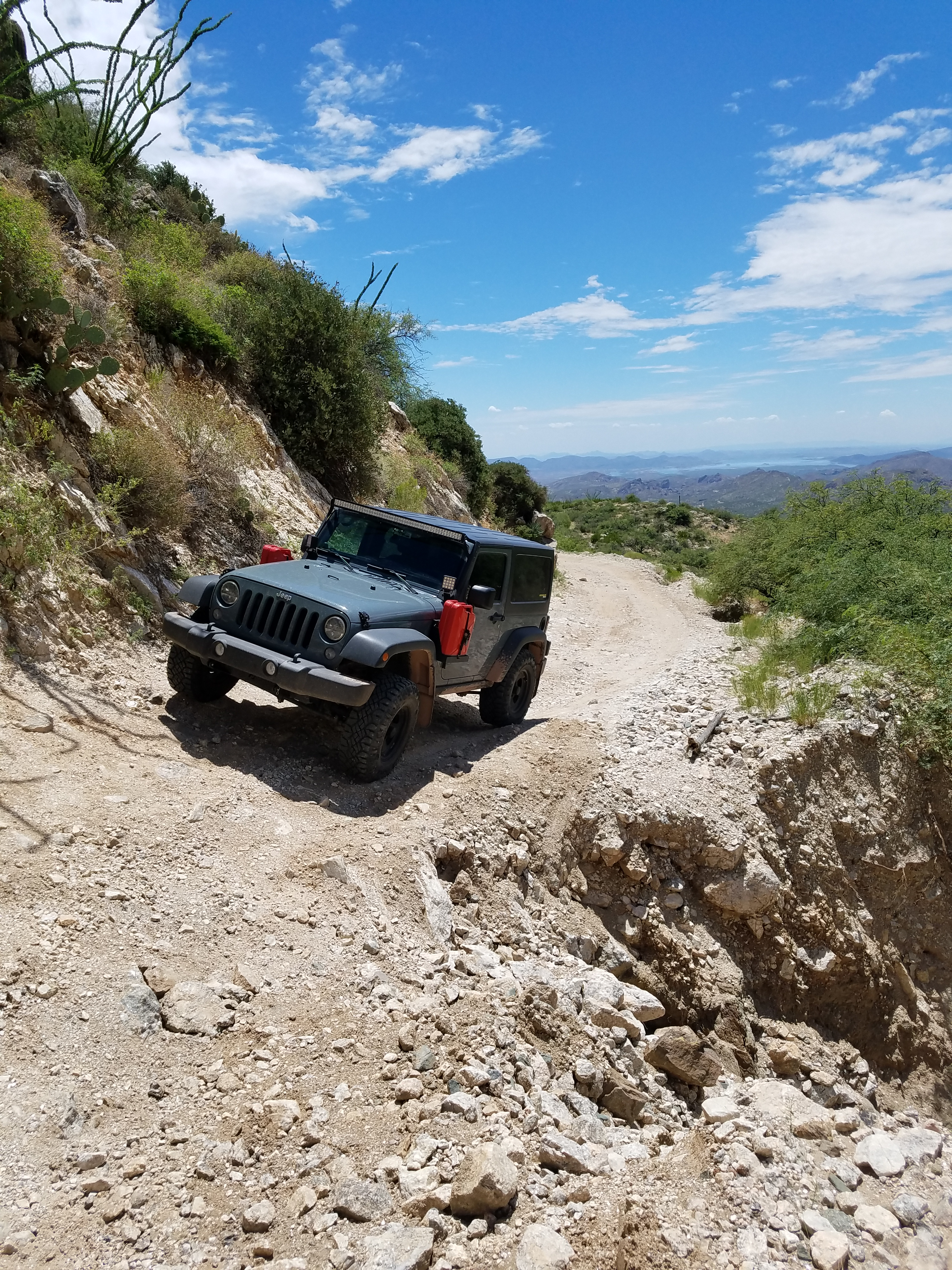 Map Of Crown King Arizona.Backway To Crown King Passable On Stock Recon Jeep Wrangler Forum